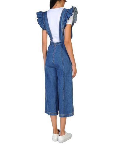 Фото 2 - Джинсовые брюки от WEILI ZHENG синего цвета