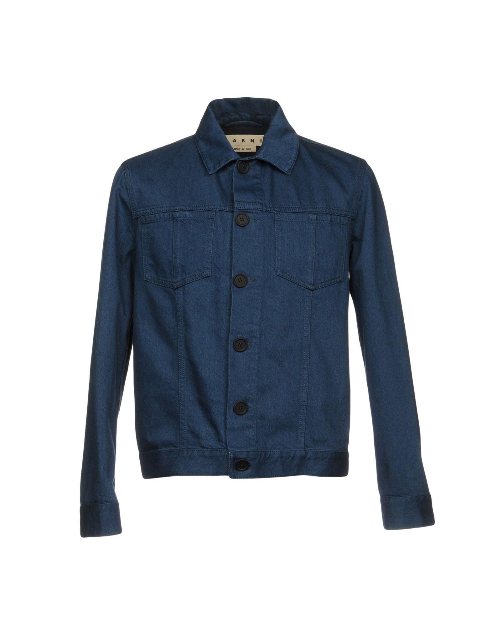 MARNI Джинсовая верхняя одежда colmar джинсовая верхняя одежда