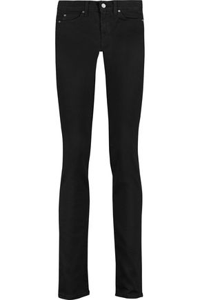 7 FOR ALL MANKIND Roxanne low-rise straight-leg jeans