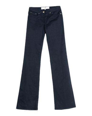 Фото - Повседневные брюки от ELISABETTA FRANCHI JEANS синего цвета