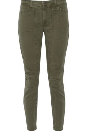 J BRAND Ginger low-rise flared jeans