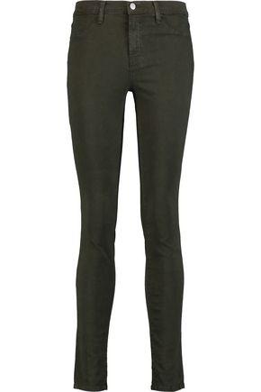 J BRAND 485 mid-rise skinny jeans