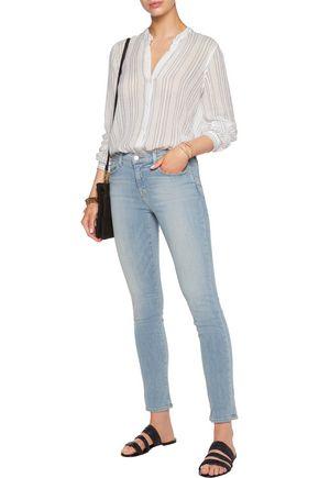 J BRAND April mid-rise skinny jeans