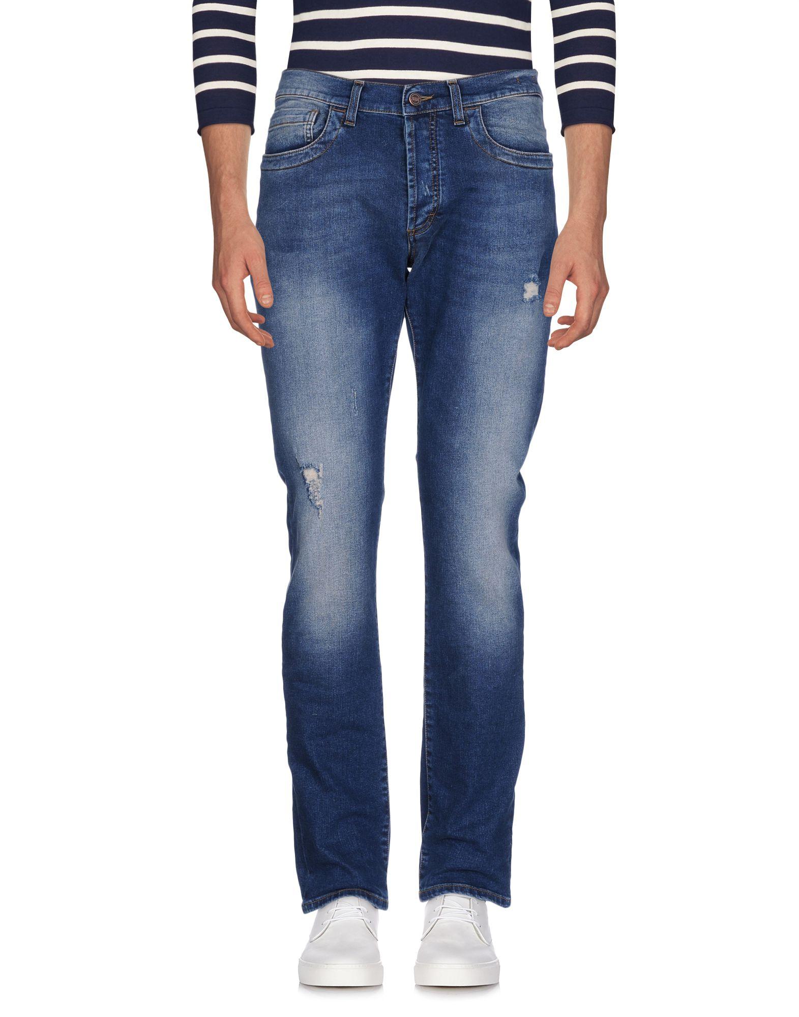 Фото BIKKEMBERGS Джинсовые брюки. Купить с доставкой