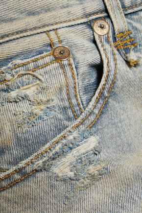 R13 Catherine distressed boyfriend jeans