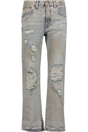 R13 Catherine distressed boyfriend jeans