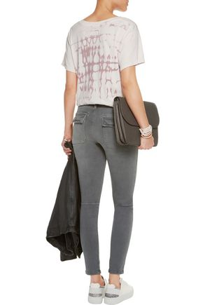 CURRENT/ELLIOTT The Conductor mid-rise skinny jeans