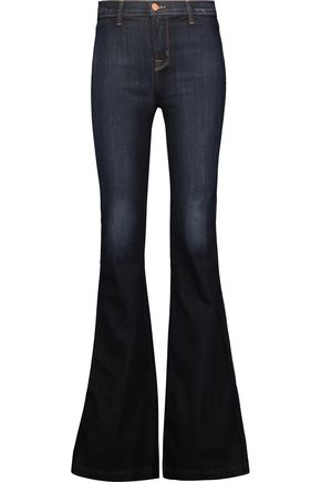 J BRAND Halle high-rise flared jeans