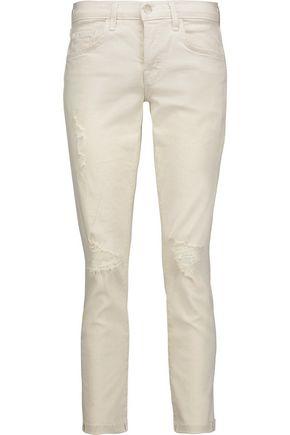 J BRAND Caitland distressed boyfriend jeans