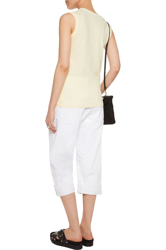 Big Jean high-rise embroidered straight-leg jeans | MARC BY MARC JACOBS |  Sale up to 70% off | THE OUTNET