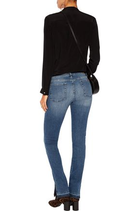 7 FOR ALL MANKIND Roxanne high-rise bootcut jeans