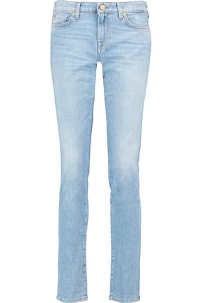 7 FOR ALL MANKIND Pyper mid-rise slim-leg jeans