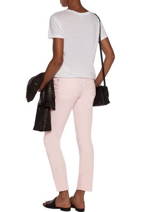 7 FOR ALL MANKIND Roxanne mid-rise slim-leg jeans