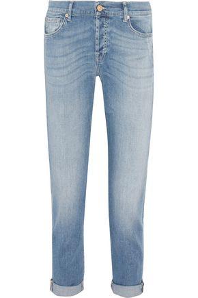 7 FOR ALL MANKIND Josefina faded boyfriend jeans