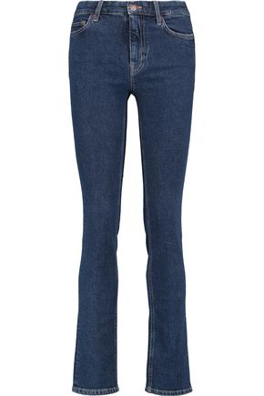 M.I.H JEANS Mid-rise slim-leg jeans