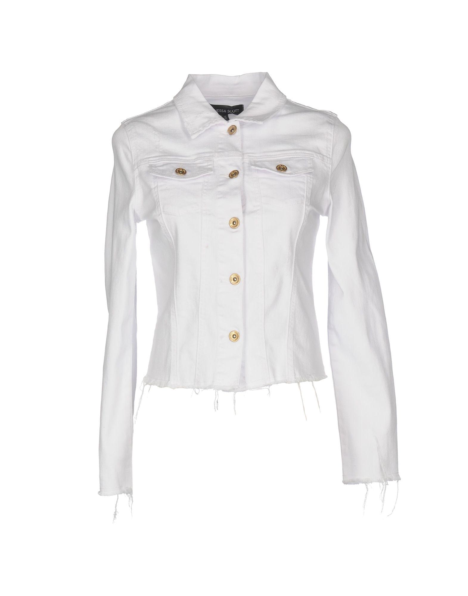 VANESSA SCOTT Джинсовая верхняя одежда