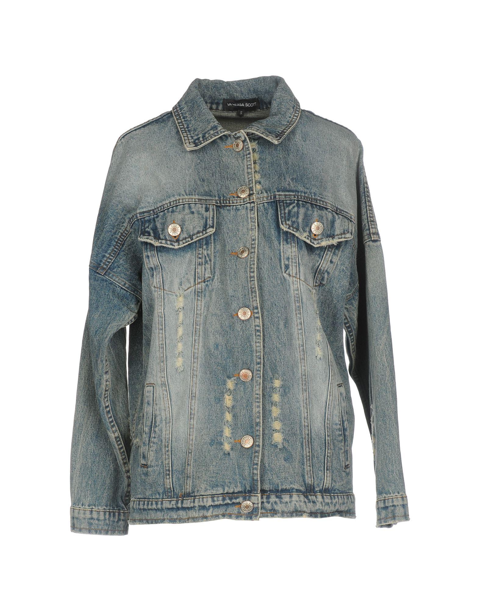 VANESSA SCOTT Джинсовая верхняя одежда represent джинсовая верхняя одежда