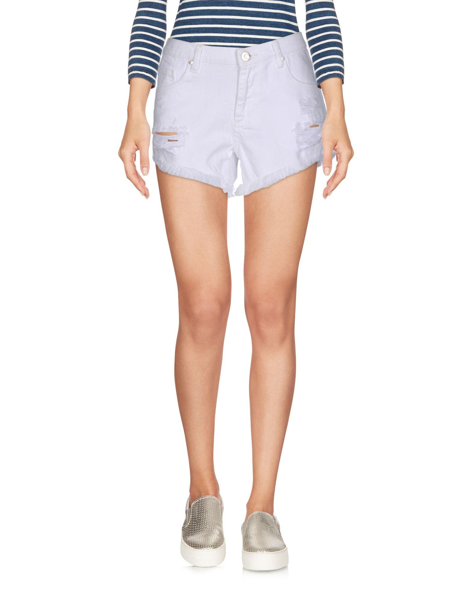 ZOE KARSSEN Джинсовые шорты superfine джинсовые шорты