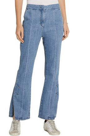 SJYP High-rise flared jeans