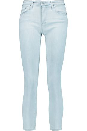 AG Jeans Stilt low-rise cropped skinny jeans