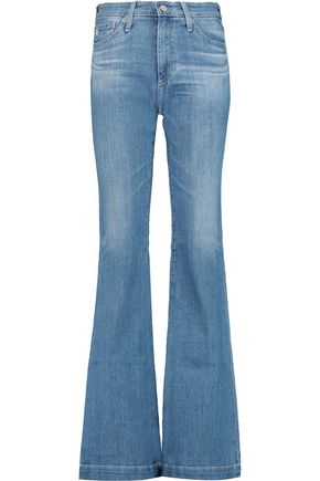 AG ADRIANO GOLDSCHMIED Janis high-rise flared jeans