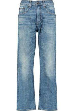 RAG & BONE/JEAN Marilyn high-rise cropped flared jeans