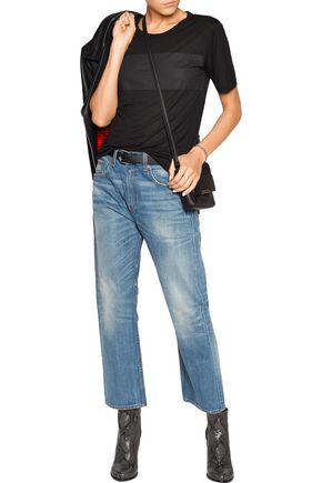 RAG & BONE/JEAN Marilyn high-rise cropped flared jeans