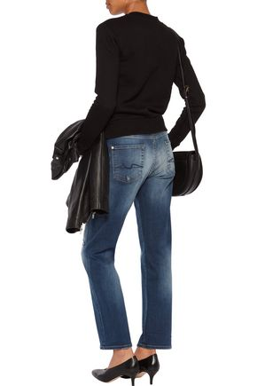 7 FOR ALL MANKIND Jared distressed boyfriend jeans