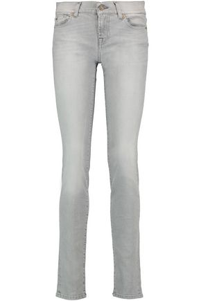 7 FOR ALL MANKIND Roxanne mid-rise skinny pants