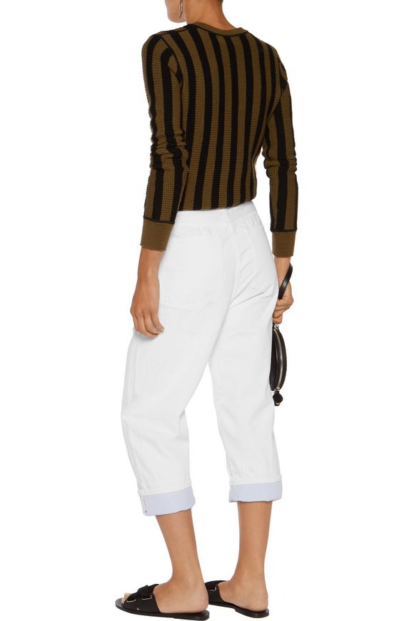 Big high-rise straight-leg jeans | MARC BY MARC JACOBS | Sale up to 70% off  | THE OUTNET