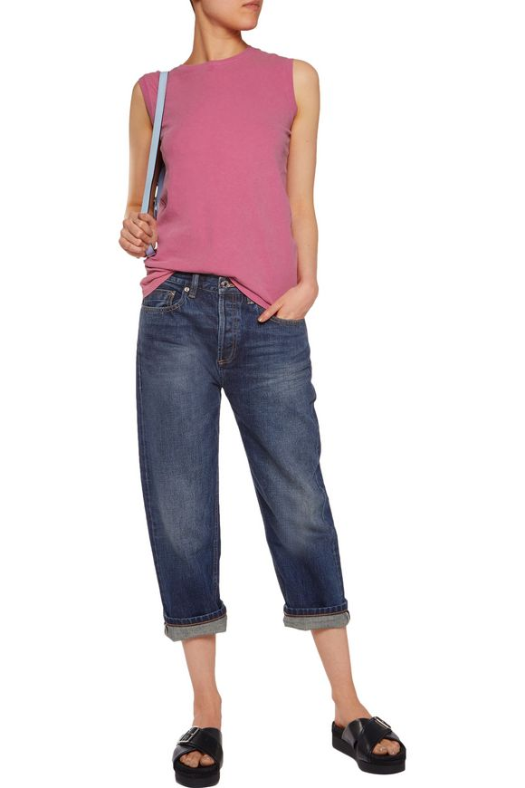 Annie cropped boyfriend jeans | MARC BY MARC JACOBS | Sale up to 70% off |  THE OUTNET