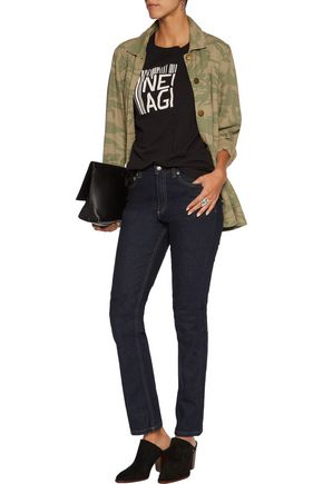 MARC BY MARC JACOBS Selvedge mid-rise slim-leg jeans