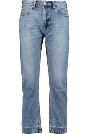 MARC BY MARC JACOBS High-rise cropped straight-leg jeans
