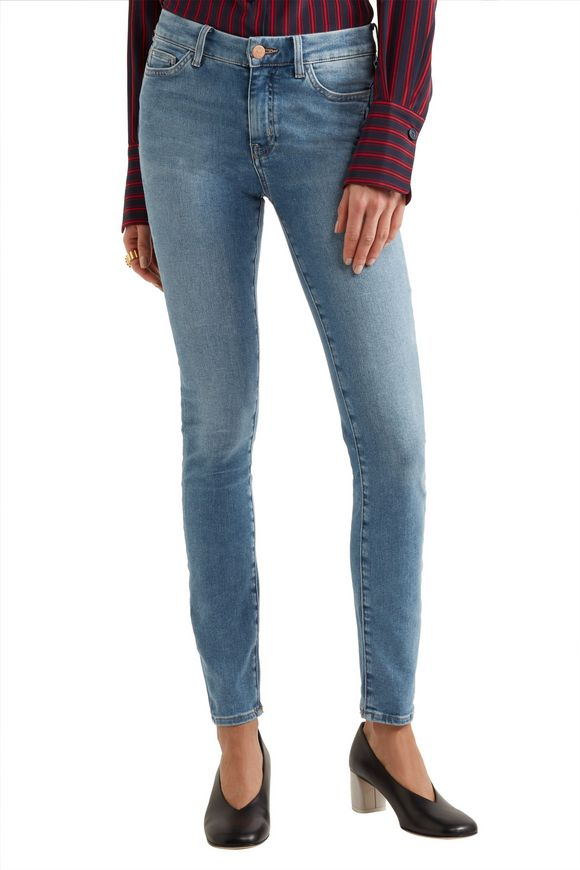 Bodycon high-rise skinny jeans   M.I.H JEANS   Sale up to 70% off   THE  OUTNET