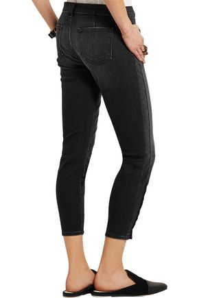J BRAND Suvi cropped mid-rise skinny jeans