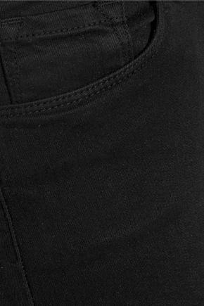 J BRAND Cropped Rail mid-rise skinny jeans