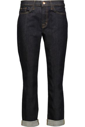 J BRAND + Theory Caitland boyfriend jeans