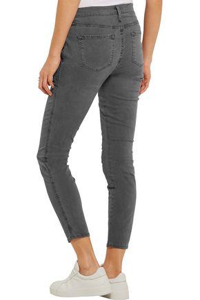 J BRAND Cotton-blend twill skinny pants