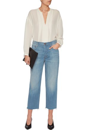 J BRAND Ivy high-rise cropped straight-leg jeans