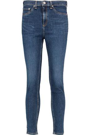 RAG & BONE 10 Inch Capri high-rise skinny jeans