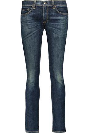 RAG & BONE Dre mid-rise slim-boyfriend jeans
