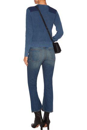 RAG & BONE Cropped high-rise bootcut jeans