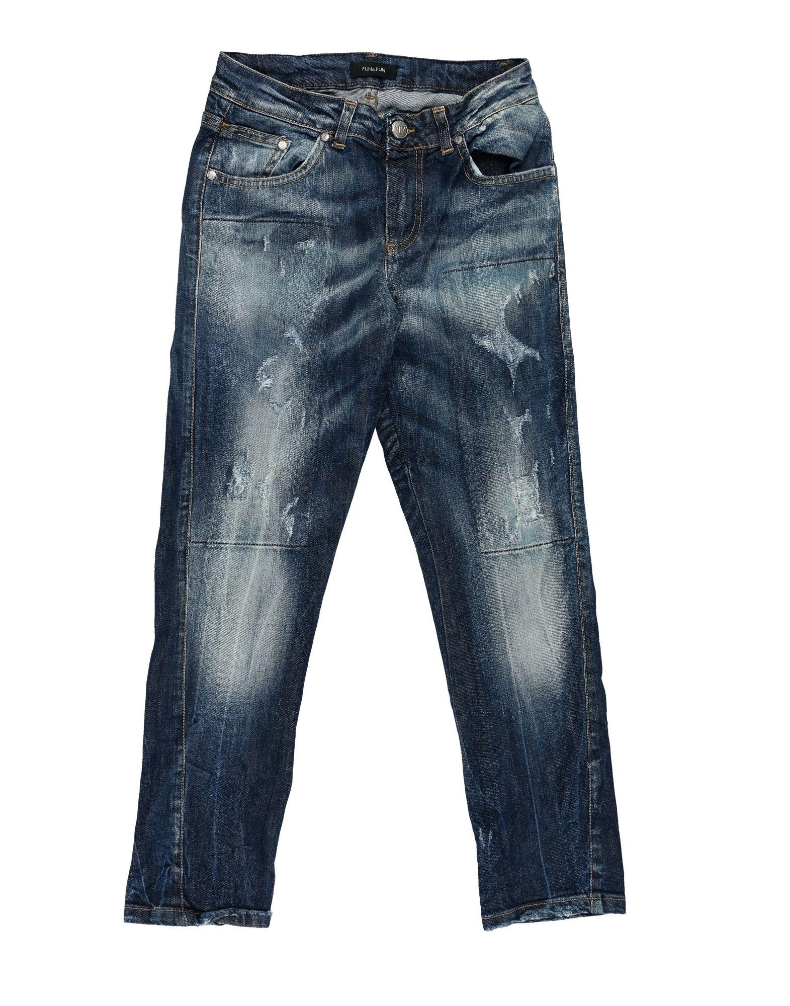 FUN & FUN Джинсовые брюки fun fun брюки fun fun jpt2187 13з джинс