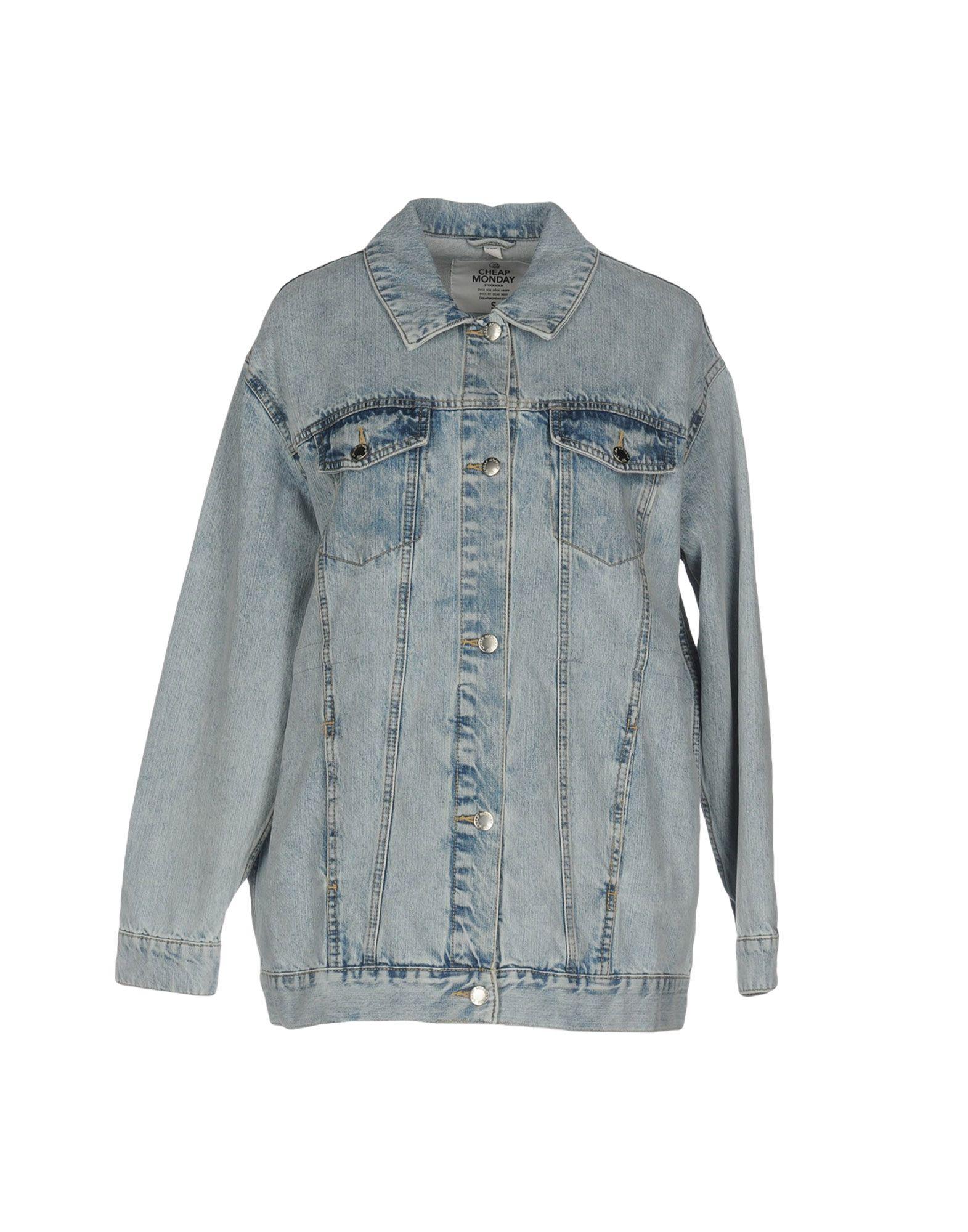 CHEAP MONDAY Джинсовая верхняя одежда cheap monday джинсовая верхняя одежда