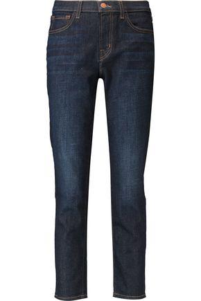 J BRAND Sadey mid-rise slim-leg jeans