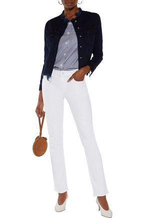 J BRAND Amelia mid-rise slim-leg jeans