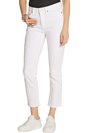 M.I.H JEANS Niki cropped mid-rise skinny jeans