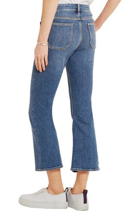 M.I.H JEANS High-rise kick-flare jeans