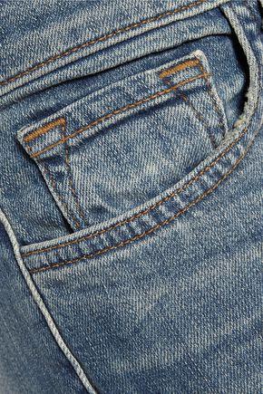 J BRAND Ellis mid-rise straight-leg jeans
