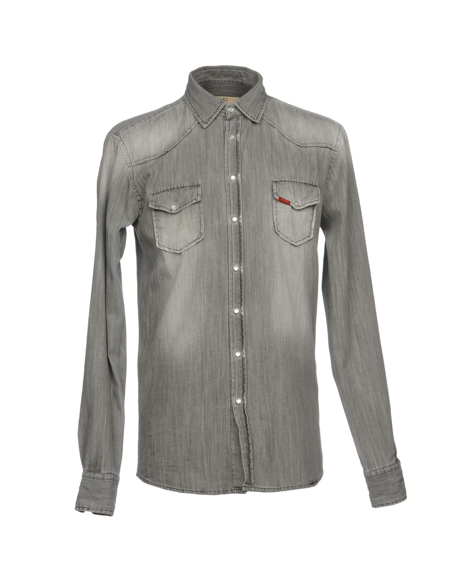 LIU •JO MAN Джинсовая рубашка